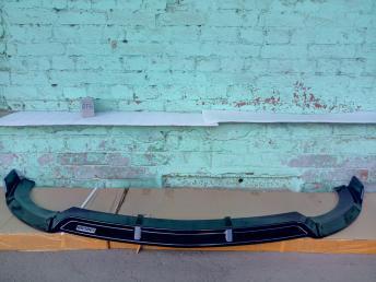 Сплиттер Мерседес E 213  AMG толстый