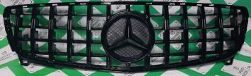 Решетка радиатора Mercedes W 176 A GT черн рестайл