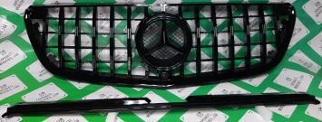 Решетка радиатора Mercedes W 447 Vito GT черная