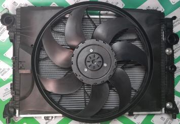 Мерседес 212 204 207 ГЛК кассета радиаторов 3,5