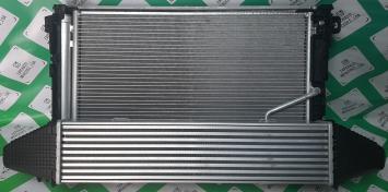 Мерседес 212 204 207 кассета радиаторов  рест 274