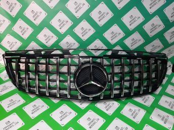 Mercedes решетка радиатора W 218 GT Line amg  хр