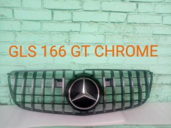 Решетка радиатора Mercedes X166 GL/GLS 2012