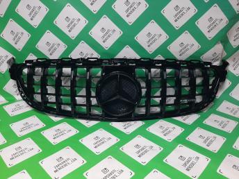 Мерседес С 205 решетка радиатора 63 GT черная