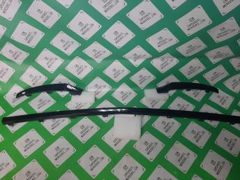 Мерседес хром бампера черн GLC W253 комплект