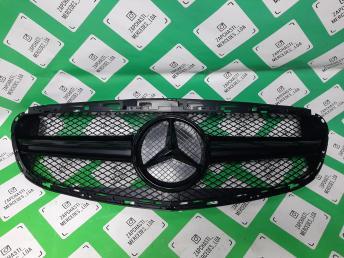 решетка радиатора Mercedes W 212 рест 6,3 черный