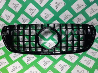 Мерседес W 470 решетка радиатора GT line AMG  черн