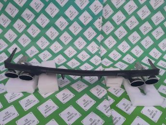 Мерседес W207 диффузор бампера заднего губа