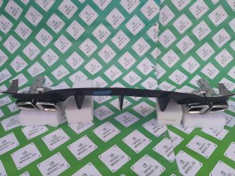 Мерседес W204 диффузор бампера заднего губа