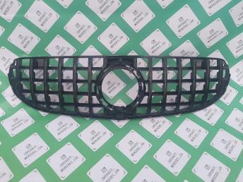 Мерседес решетка  W 253 GLC  GT LINE рест черная