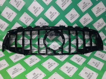 Решетка рад/ Мерседес W118 CLA  ГТ GT LINE черная