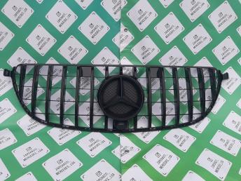 Решетка радиатора Mercedes W 166 GLE и 292 GT черн