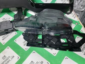 Мерседес W212 диффузор бампера заднего губа рест