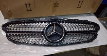 Решетка радиатора Мерседес W 205 Diamond Даймонд