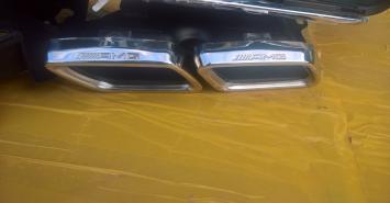 Mercedes Benz GLE coupe диффузор + насадки амг amg