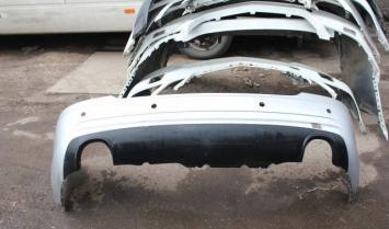 Бампер задний дорестайл Mercedes W251 R 2005-2015