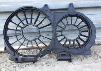 Ауди а4 8е Audi A48E диффузор для двух вентиляторо