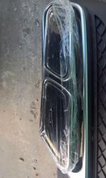 Mercedes Benz E 212 диффузор + насадки амг amg 65