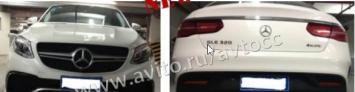 Обвес Mercedes W292 GLE 2015 coupe