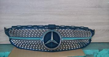 Решетка радиатора diamond диамант Mercedes W205 C 2014