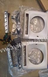Mercedes G463 Гелик Gelendwagen маски диодами Led