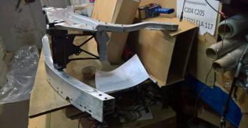 Мерседес e 213 панель передняя mercedes