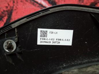 Молдинг переднего левого крыла Subaru Impreza V GT G14 91112FL130