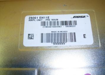 Усилитель звука bose для Инфинити М35 М45