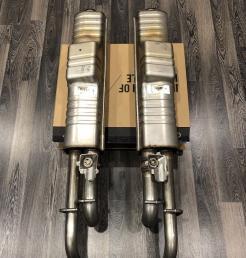 Глушитель Mercedes G-class W463 new A4634908800  A4634908700