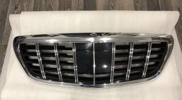 Решётка радиатора Mercedes S-class W222 Brabus