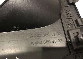 Очки фар Mercedes G-class W463 new A46388041029999  A46388042029999  A46388043029999