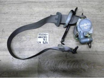 Ремень безопасности передний Lh Б/У 73220aa090b2 73220aa090b2