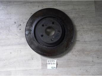Диск тормозной передний Б/У 435120E030 435120E030