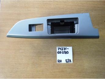 Накладка кнопки стеклоподьъемника RR Rh Б/У 7427160290 7427160290
