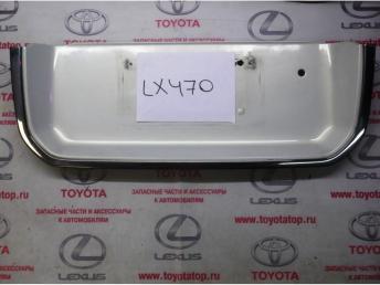 Накладка задней двери Lx 470 Б/У 7680160040a0 7680160040a0