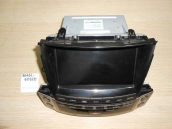 Мультидисплей LEXUS LX570 Б/У 8643160323 8643160323