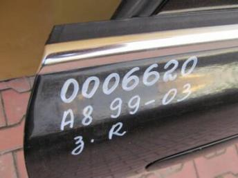 Дверь задняя правая AUDI A8 4D БУ 4D0833052E