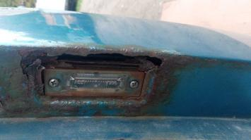 Крышка багажника VW GOLF 5 PLUS БУ 5M0827025E