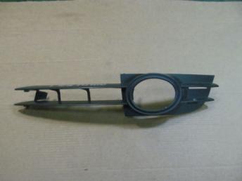 Решетка бампера Audi A6 левая с п/т бу 4F0853681