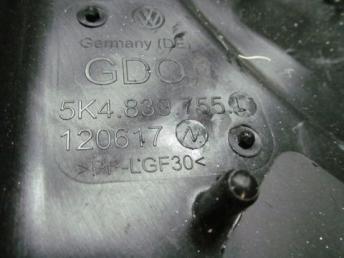Стеклоподъемник задний левый Фольксваген Гольф 6 2009-2013 гг. 5G4839461B