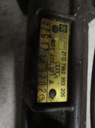 Рулевая рейка Audi A8 с сервотроником 1999 - 2003 4D1422052GX