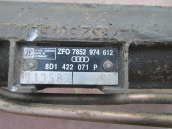 Рулевая рейка Audi A4 1995 - 2001 PASSAT 1997-2005 8D1422052KX
