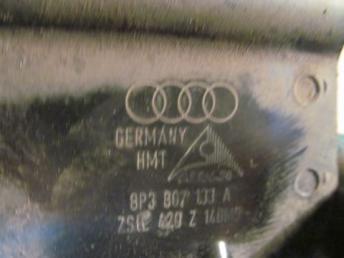 Кронштейн переднего бампера Audi A3 левый бу 8P0807133