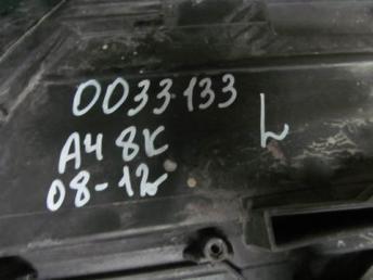Фара левая Audi A4 8К би-ксенон 2008 - 2010 блоки  8K0941029AJ