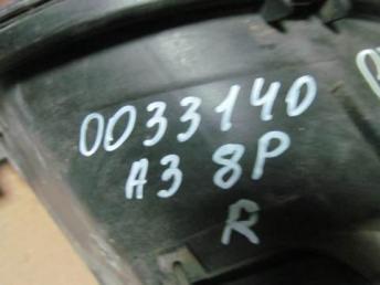 Фара правая Audi A3 8P ксенон 2004 - 2008 бу  8P0941030R