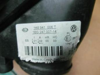 Фара правая Golf 5 ГОЛЬФ 5 Б/У 2004 - 2009 1K6941030T