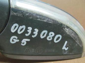 Зеркало левое ГОЛЬФ 5 G5 6 контактов электрическое 1K1857507A