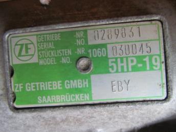АКПП EBY / FAB 1.8 AEB / ANB / APU AUDI A6  01V300048RX