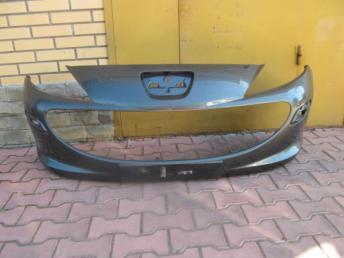 Бампер передний Peugeot 207 БУ  9686465577