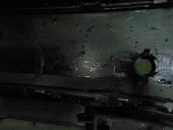 Бампер задний AUDI Q7 БУ 4M0807511
